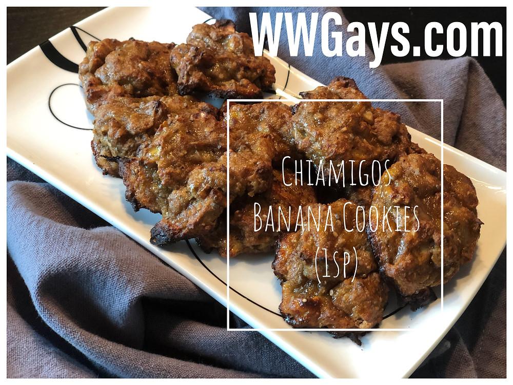 Chiamigos Banana Cookies