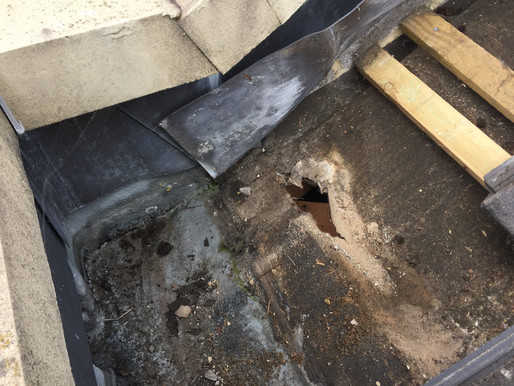 12 year old roof leaking
