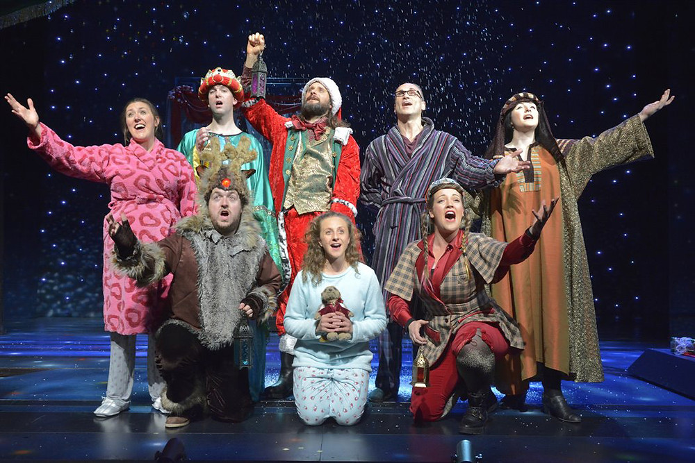 The cast of Horrible Histories Horrible Christmas at Blackpool Opera House. All pics: company