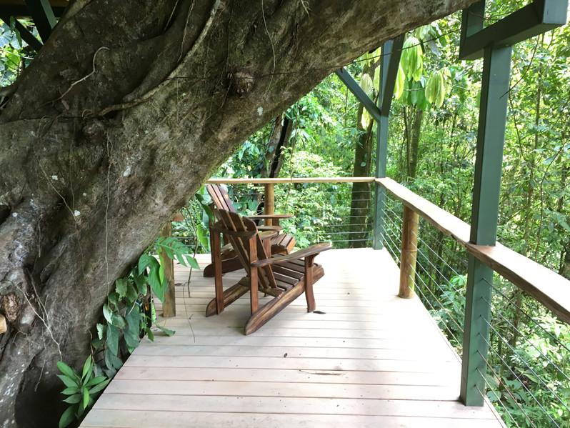 El Fenix lower balcony