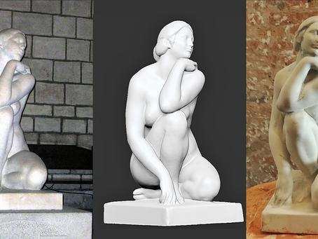 ScanPhase escanea, digitaliza e imprime en 3D escultura La Diosa de Josep Clarà