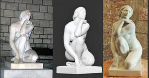 La Diosa de Josep Clarà - Reproducción 3D