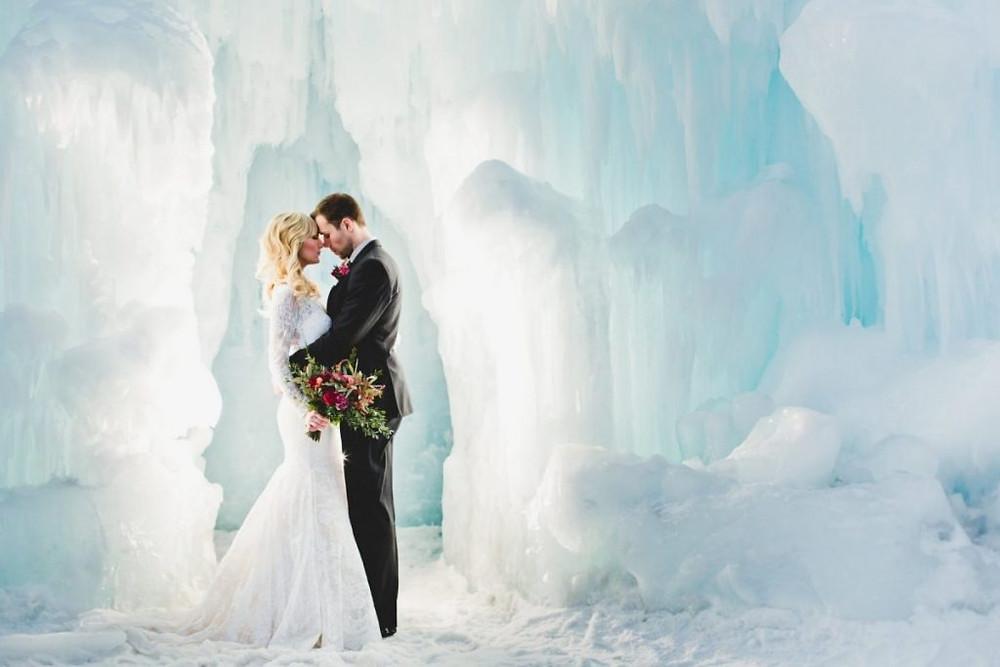 Edmonton Ice Castle - Canada