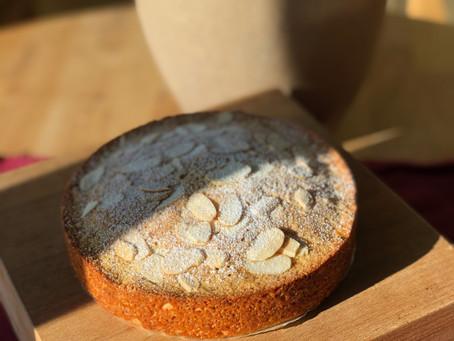 Almond Orange Teacake