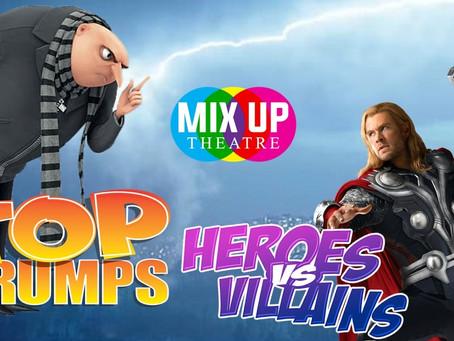 #Taskmaster Mix Up - Heroes vs. Villains - TOP TRUMPS