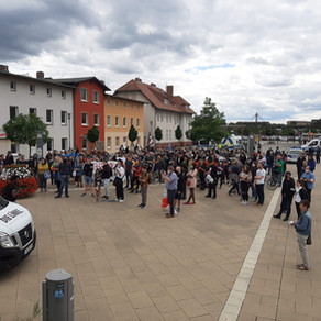 #blacklivesmatter Demo in Eberswalde
