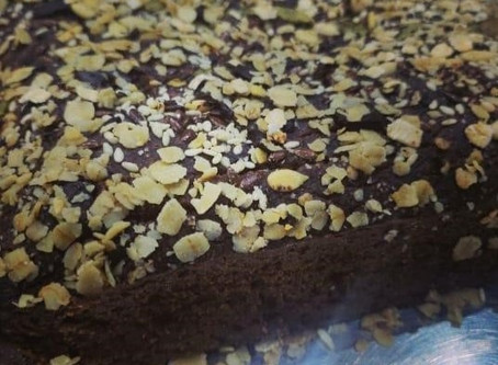 Recipe: Oats Banana Choco Cake