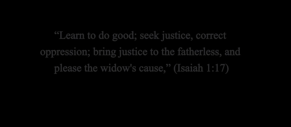 Do Good--Isaiah 1:17