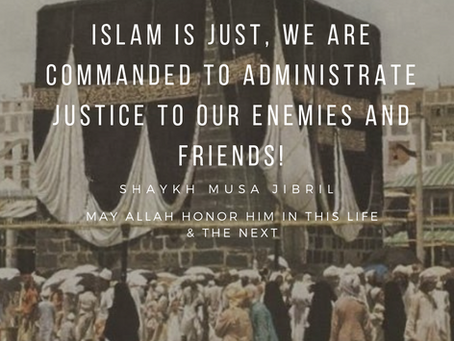 Islam is a Religion of Justice