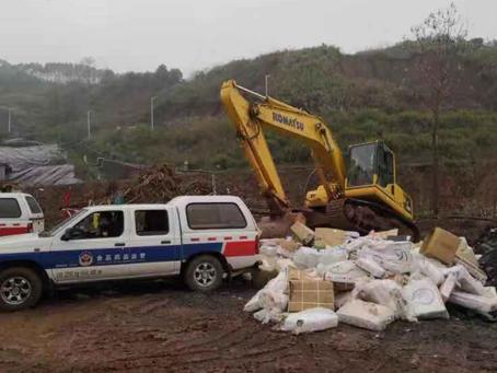 河北廊坊举行2019年度假冒伪劣消防产品集中销毁仪式