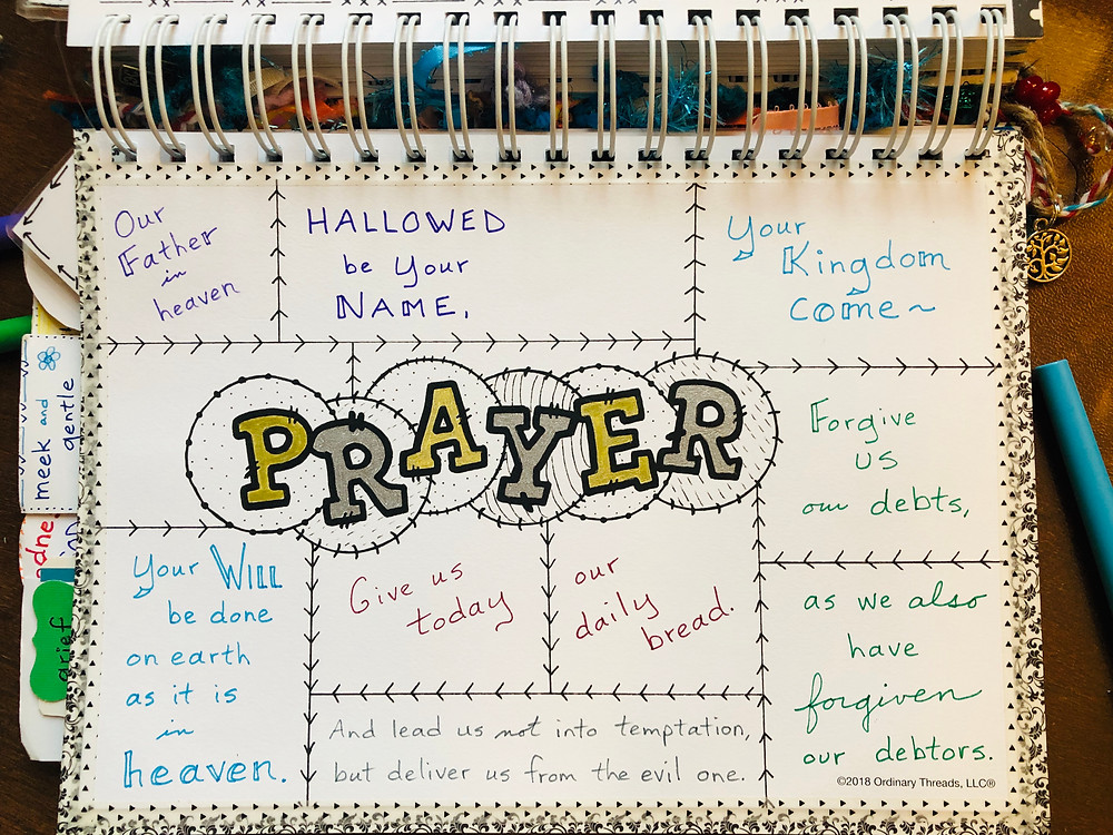Prayer template, in progress