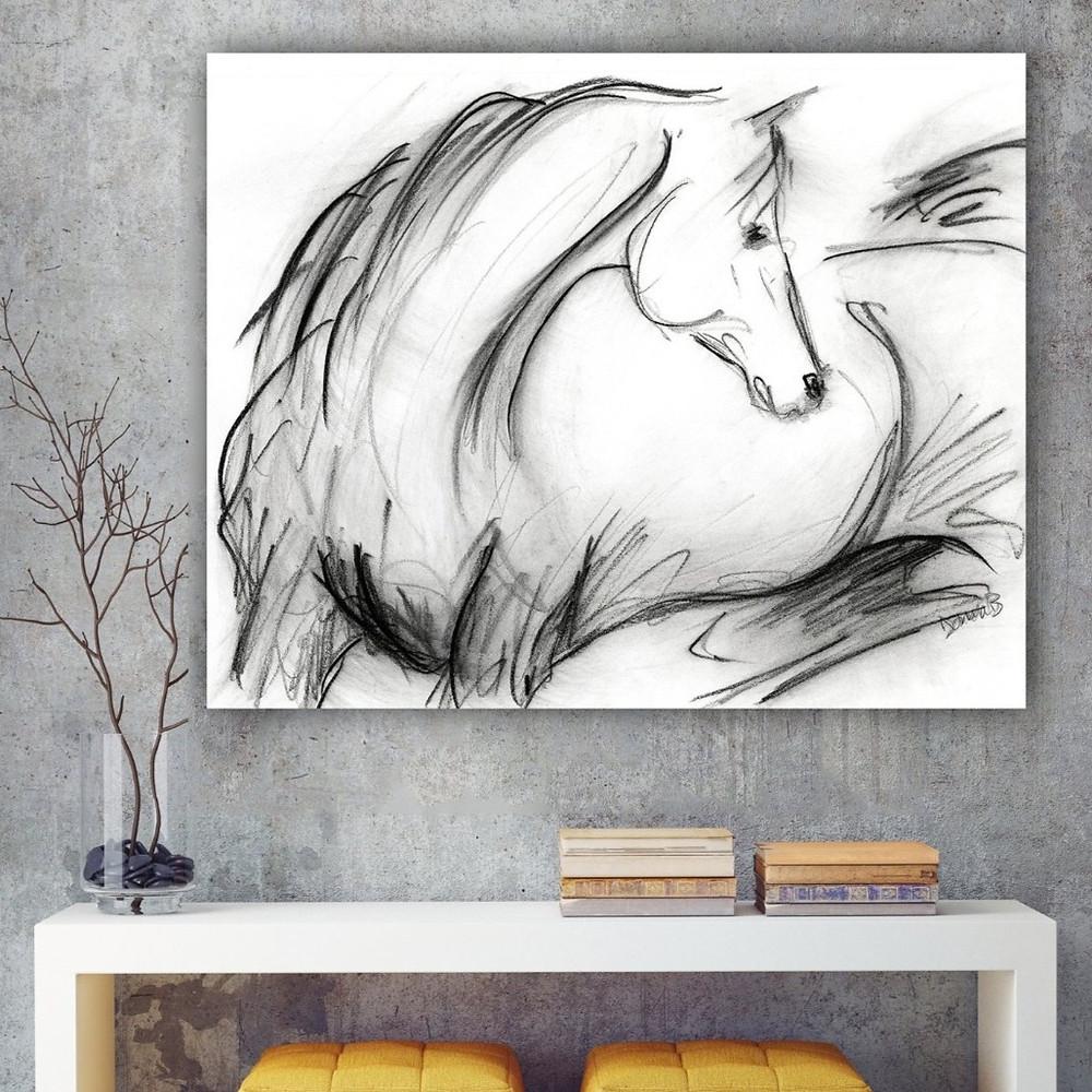 Donna Bernstein Artist Life Equestrian