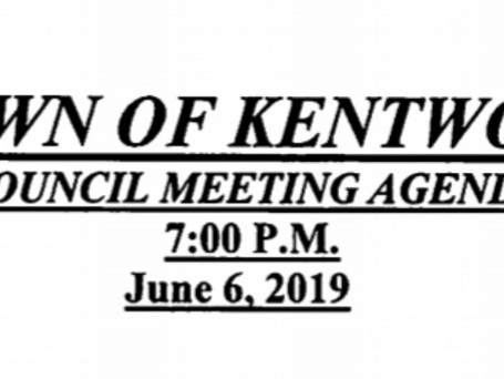 View the June 2019 Council Meeting Agenda