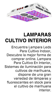LAMPARAS CULTIVO INTERIOR