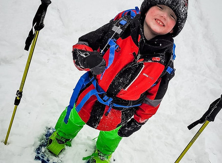 Get Snowshoeing with your children TODAY!