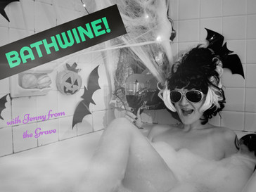 Bath Wine! A Bathtime Halloween Wine Review