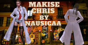 Makise Chris By Nausicaa
