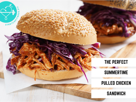 The Perfect Summertime Pulled Chicken