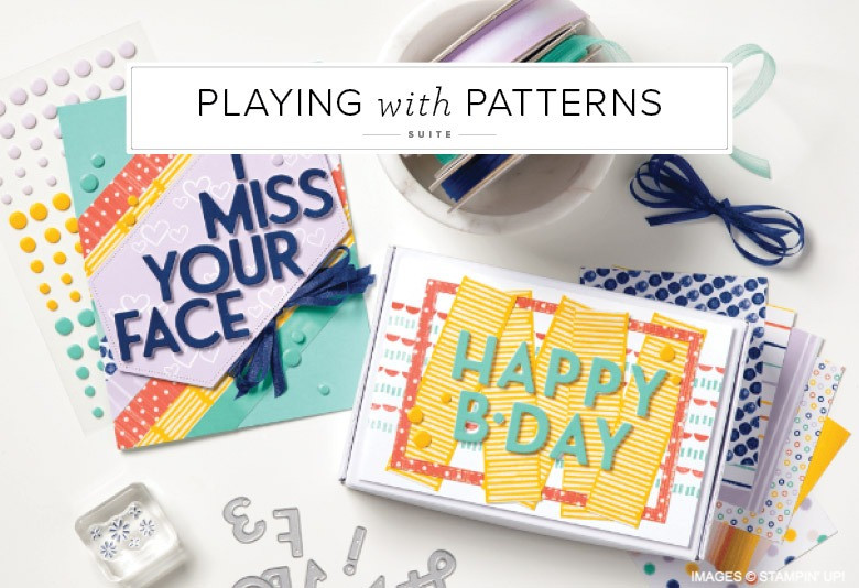 Playing with Patterns Stampin' Up! Product Suite Image