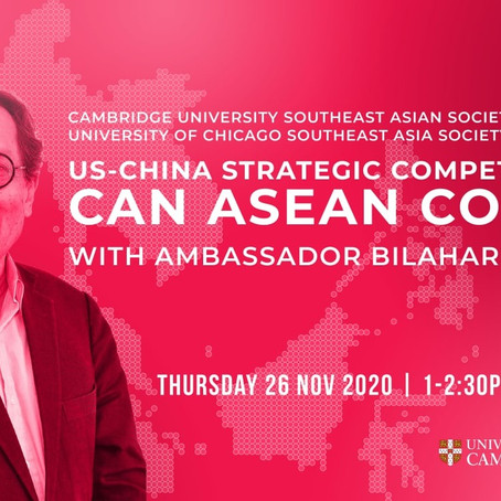US-China strategic competition: Can ASEAN Cope?