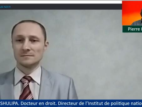 Shulipa Yuri.Docteur en droit Directeur de l'Institut de politique nationale avocat ukrainien russe