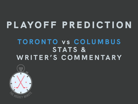 Toronto Maple Leafs vs Columbus Blue Jackets - stats & writer's commentary