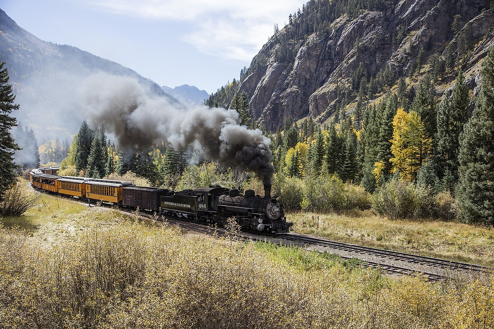 Silverton Railroad in Durango, Colorado