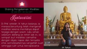 Stress PHK hilang dengan meditasi - Sharing oleh KANTACARINI
