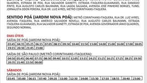 alteração de itinerário da linha 377tro.