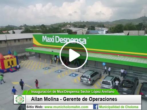 Inauguración de Nueva Maxi Despensa en Choloma