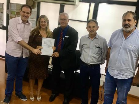 PRESIDENTE DO SRRV GARANTE JUNÇÃO DE SEFAZ E AGRODEFESA EM RIO VERDE