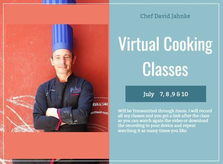 Virtual Cooking Classes Online School