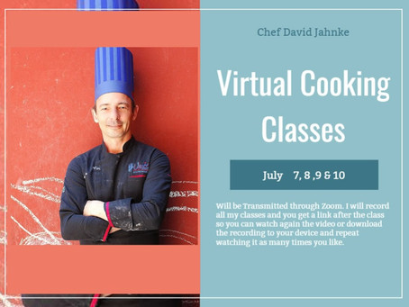 Virtual Cooking Classes Online School