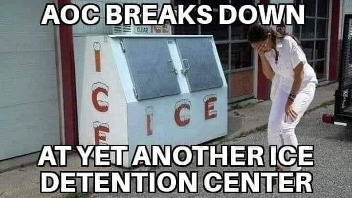 Funny AOC Ice Meme