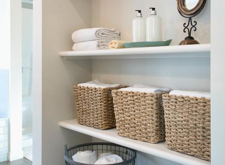 Tips para mantener el orden en el baño