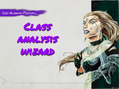 Class Analysis: Wizard
