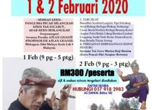 """Daftar segera!! """"Ilmu amanah,ilmu rahsia Pahlawan Melayu""""- Prof Dr Azlan Ghanie"""