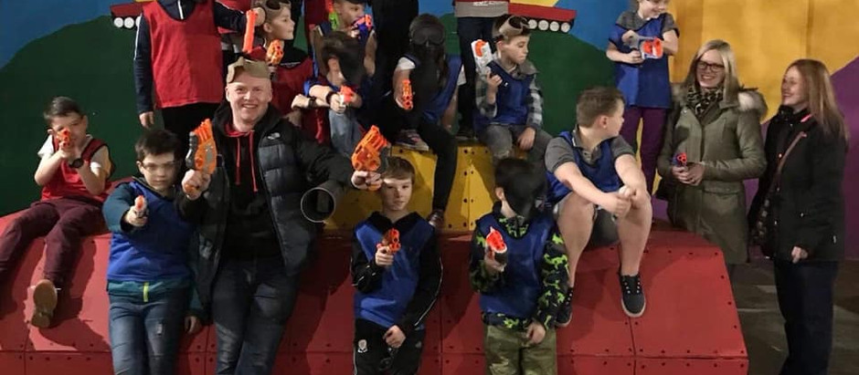 End of Year Nerf Wars Karate Party at The Regal, Grimsby - 22nd December 2019