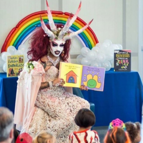 San Francisco Library Hosts Story Hour Where Drag Queens Read to Children