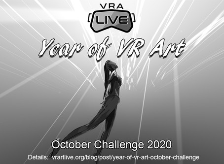 Year of VR ARt October Challenge