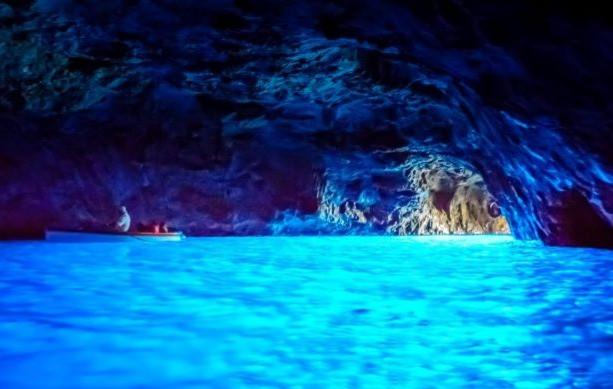 Gruta Azul, Isla de Capri y Anacapri en Italia