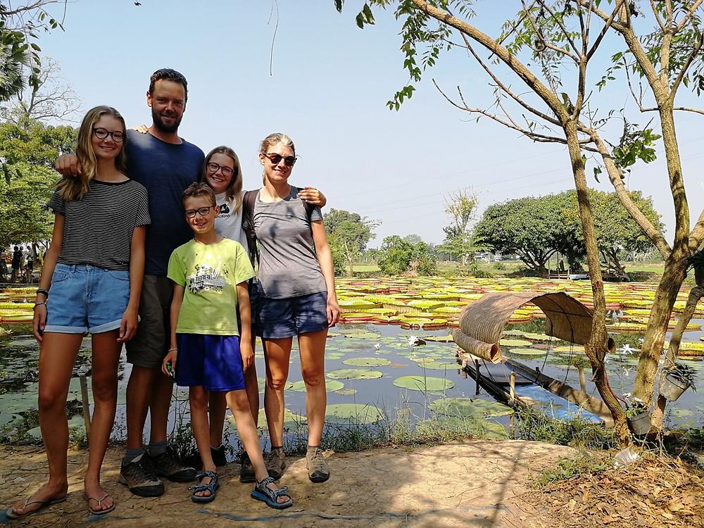 Tour du monde à vélo en famille Phitsanulok