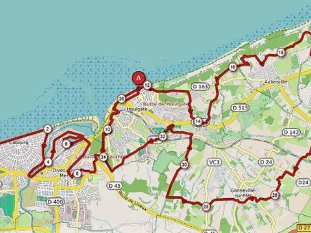 Parcours du trail de la Corniche 2019 - 36.5km