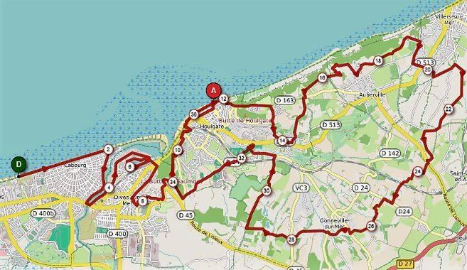 36.5 km - Trail de la Corniche 2019 - Trail de l'Estuaire de la Dives