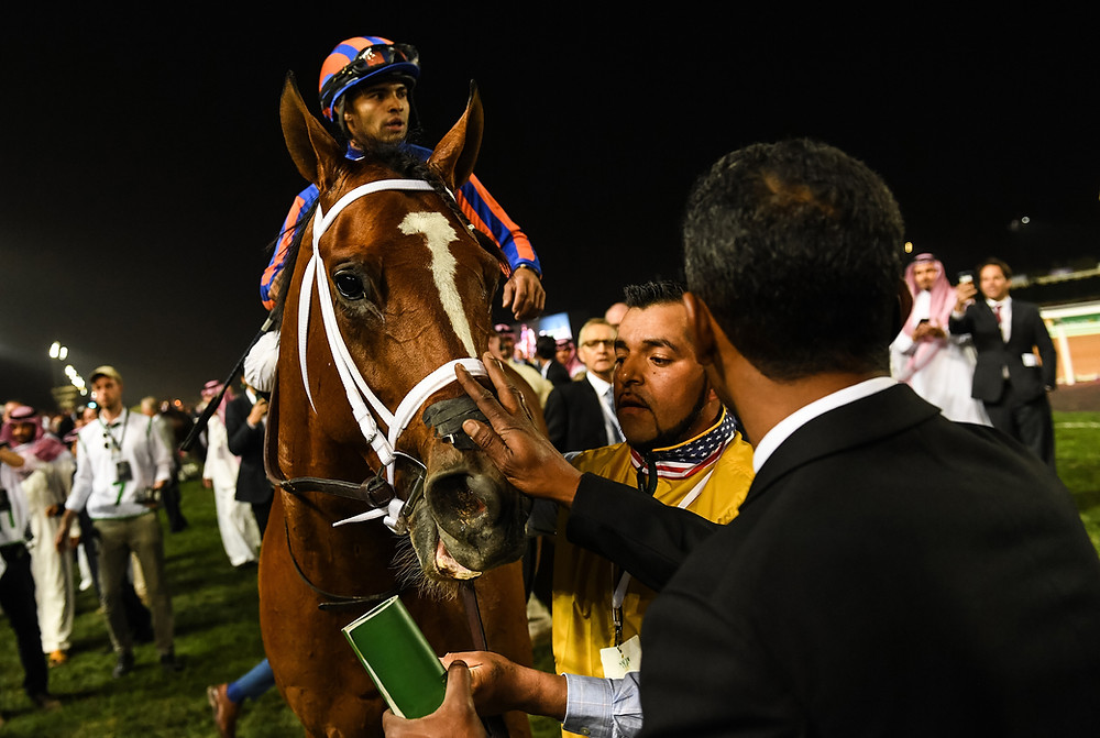 Maximum Security, DQd from Kentucky Derby, wins the $20 million Saudi Cup