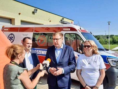 Spółki wspierają szpitale