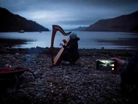 Digital-workshop i Skottland