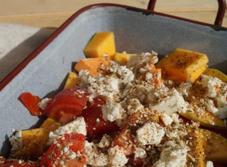 Orange-gelb-rotes Herbst-Seelenfutter: schnelles, einfaches Gemüserezept