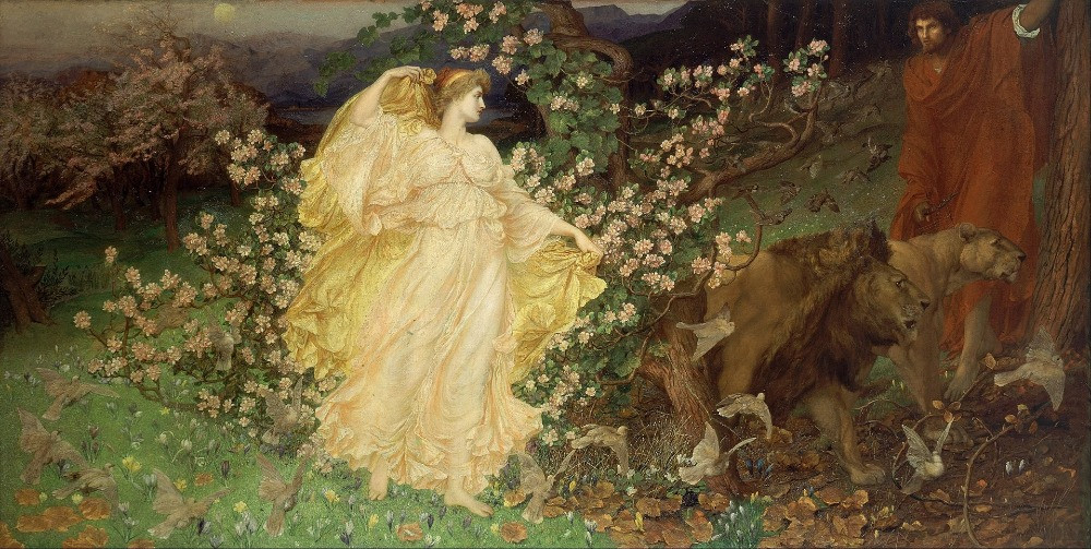 """Venus and Anchises"" by William Blake Richmond,"