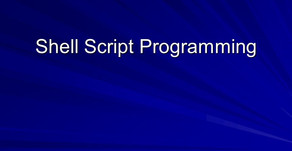 Shell scripts Assignment Help | System Programming